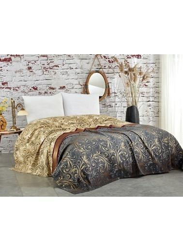 Komfort Home Tek Kişilik Ranforce %100 Pamuklu Pike 160x230 CM Renkli